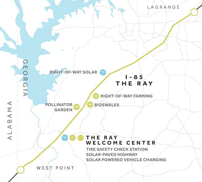 Map Of I 85 Georgia.Home The Ray Let S Drive The Future The Ray Let S Drive The